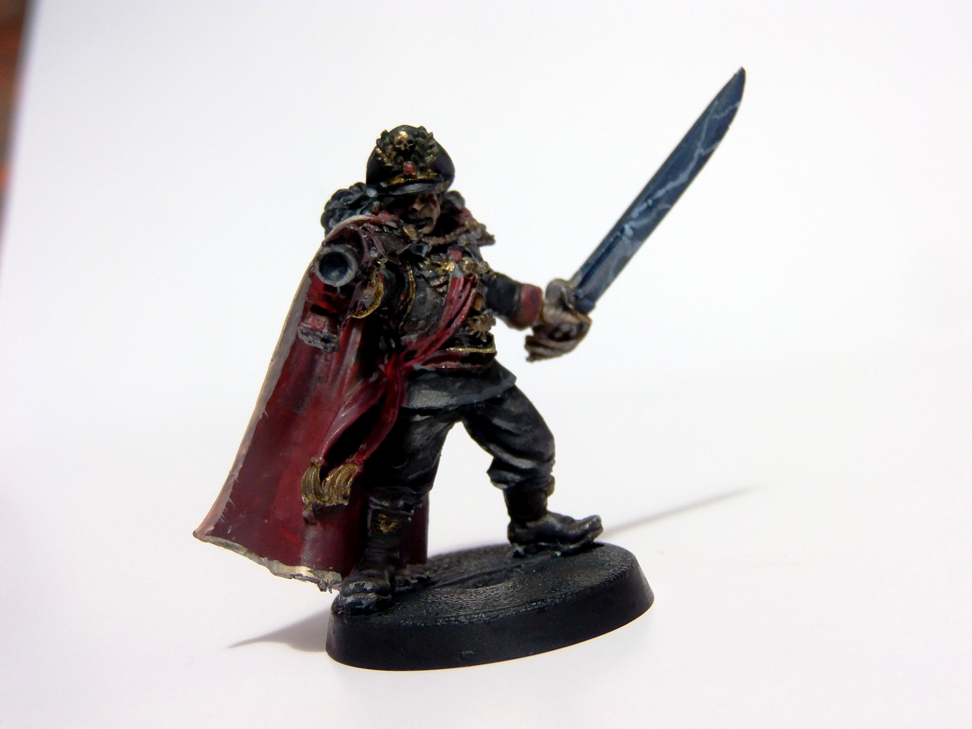 Astra Militarium, Commissar, Imperial Guard, Power Sword, Warhammer 40,000