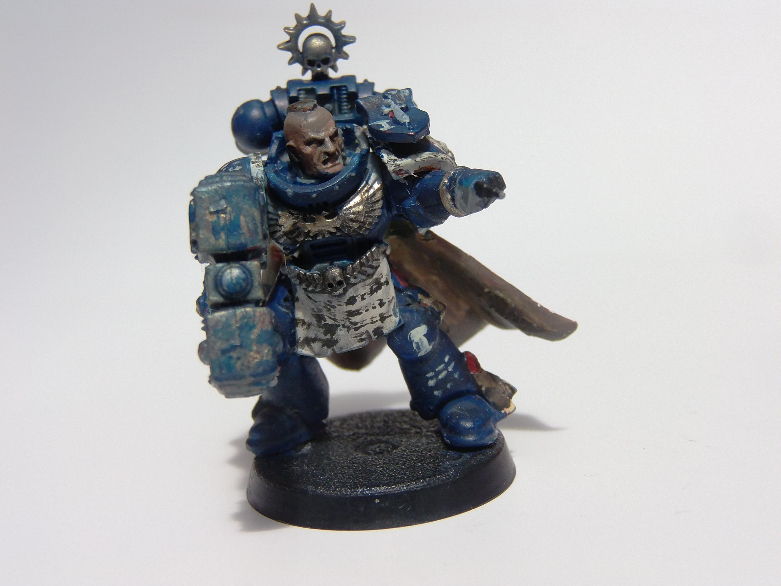 Conversion, Kit Bashed, Scratch Build, Space Marines, Ultramarines, Warhammer 40,000