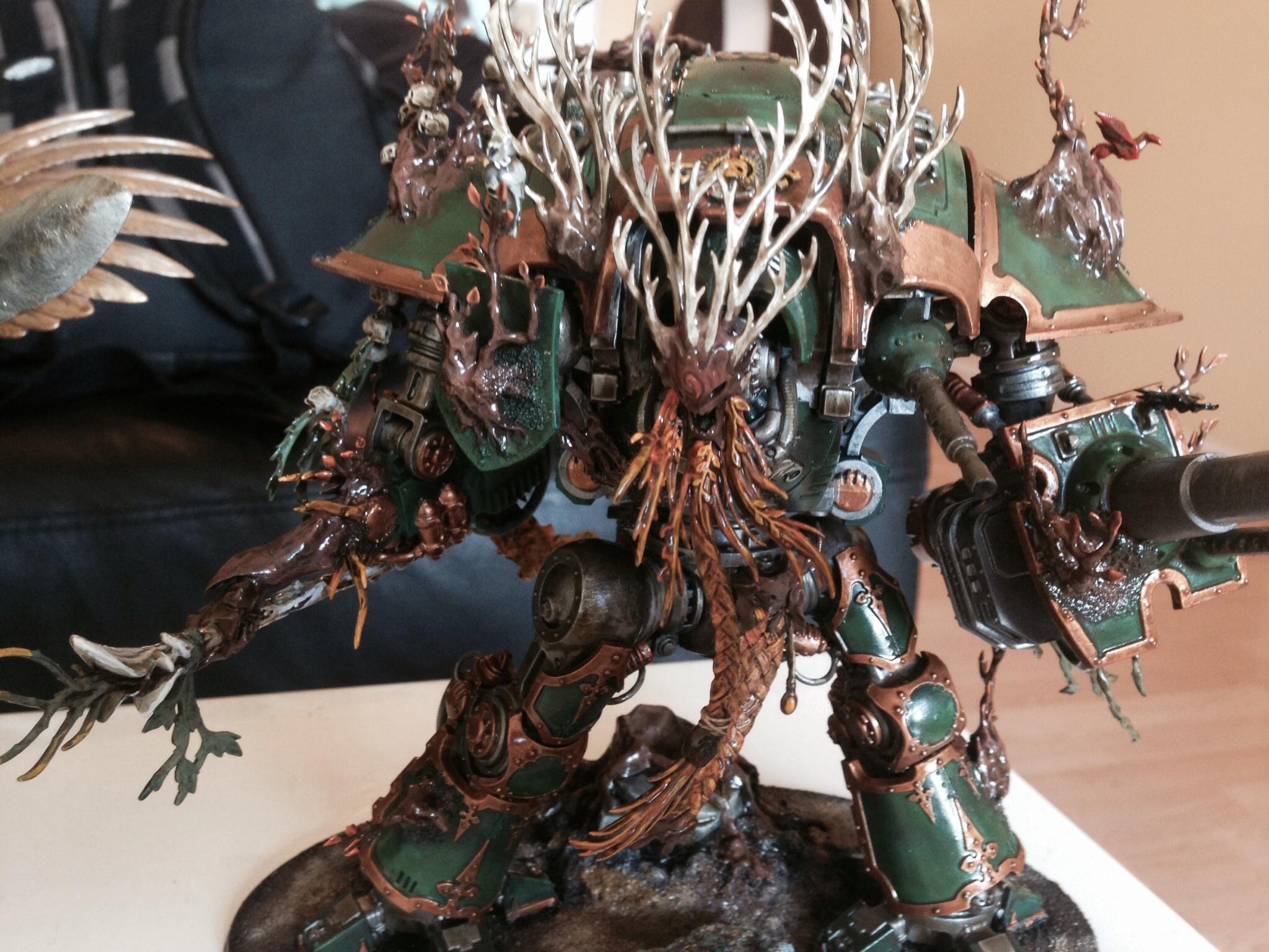 Conversion, Imperial Knight, Treeman, Wood Elves