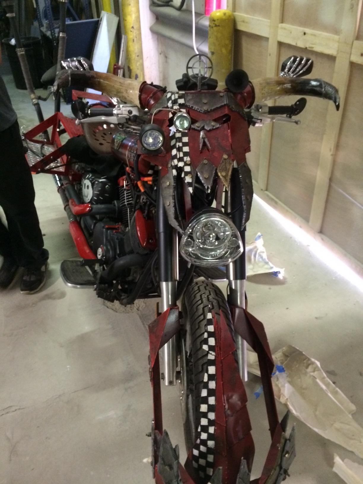 Life-size, Motorcycle, Orks, Warhammer 40,000
