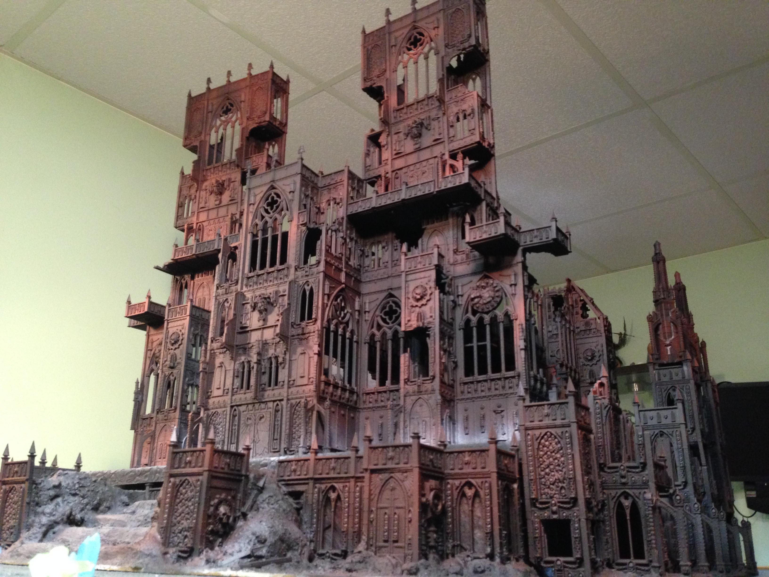 Cathedral, Huge, Temple, Terrain, Warhammer 40,000