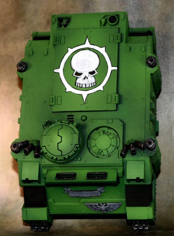 Badab War, Freehand, Rhino, Sons Of Medusa, Space Marines, Work In Progress
