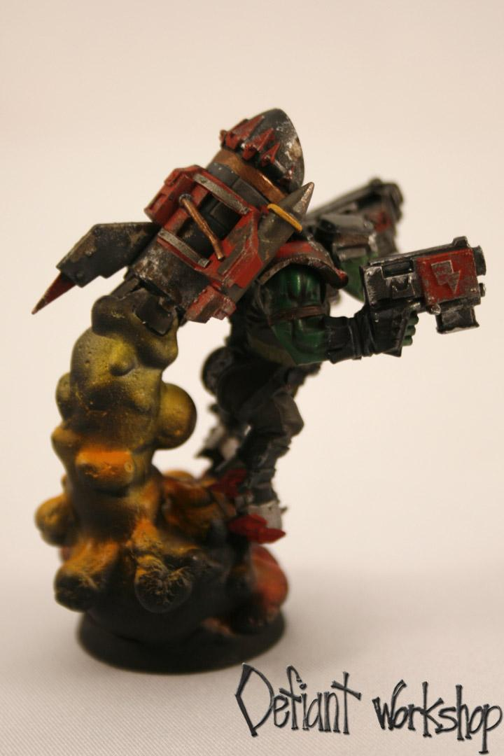 Exhaust, Jetpack, Orks, Pro-painted, Stormboys