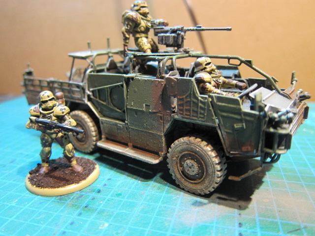Airfix, Jeep, Scout Car, Supacat, Taurox