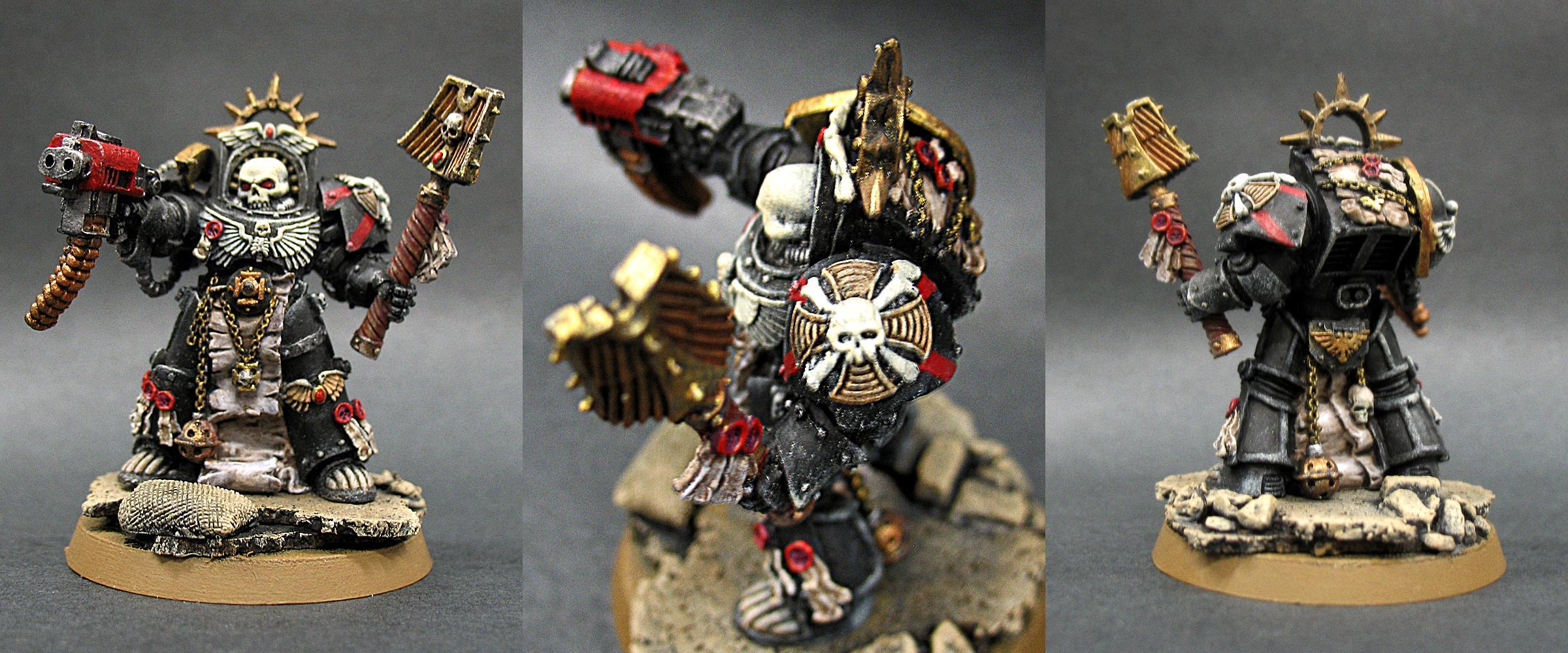 Blood Angels, Chaplain, Terminator Armor