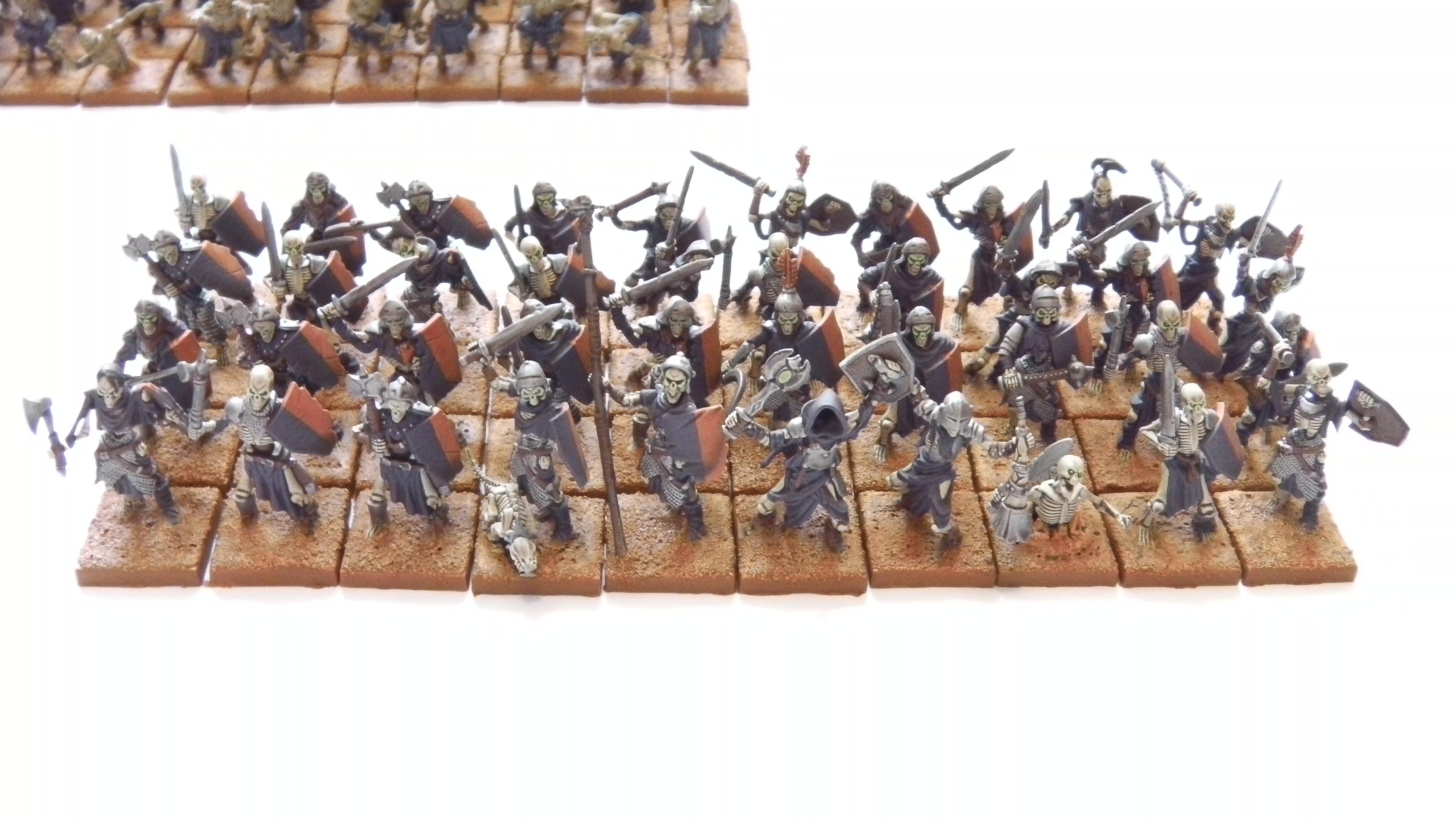 Horde, Kings Of War, Mantic Games, Skeletons, Undead