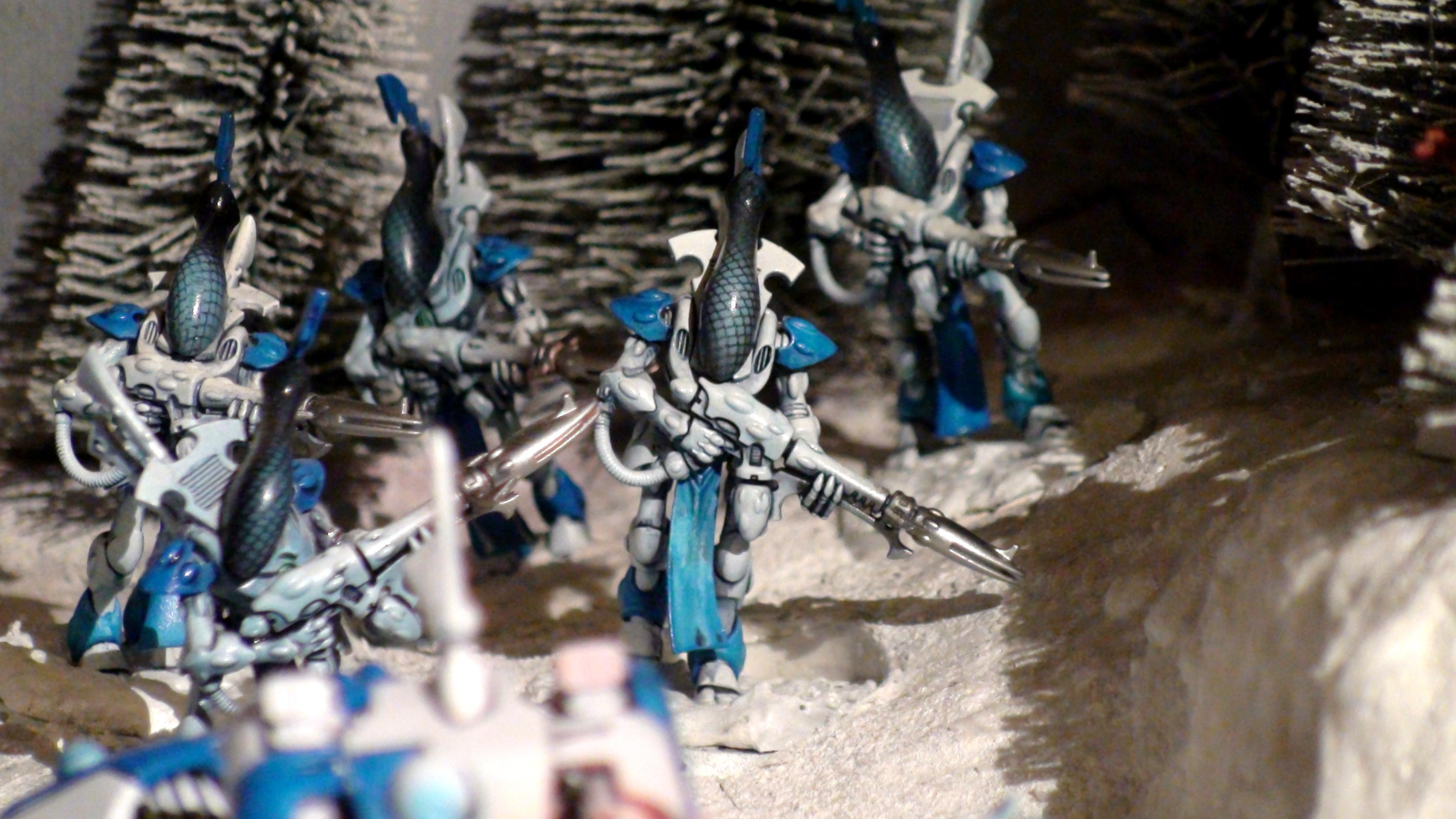 Army, Blue White, Diorama, Eldar, Eldar Wraith Army, Force, Forest, Forge World, Ghost, Host, Ilyrith, Iyanden, Iybraesil, Iybraezil, Phoenix Lord, Shadow, Snow, Spectres, Spirit, Spirit Host, Spirit Only, Warhammer 40,000, Warhammer Fantasy, Waveserpent, Winter, Wraith, Wraith Host, Wraith Only, Wraithguard, Wraithknight, Wraithknights, Wraithlord