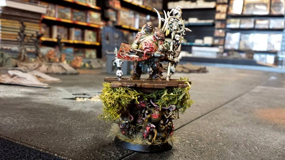 Cd, Champion, Chaos Daemons, Counts As, Herald, Kitbash, Nurgle, Palanquin, Warriors Of Chaos
