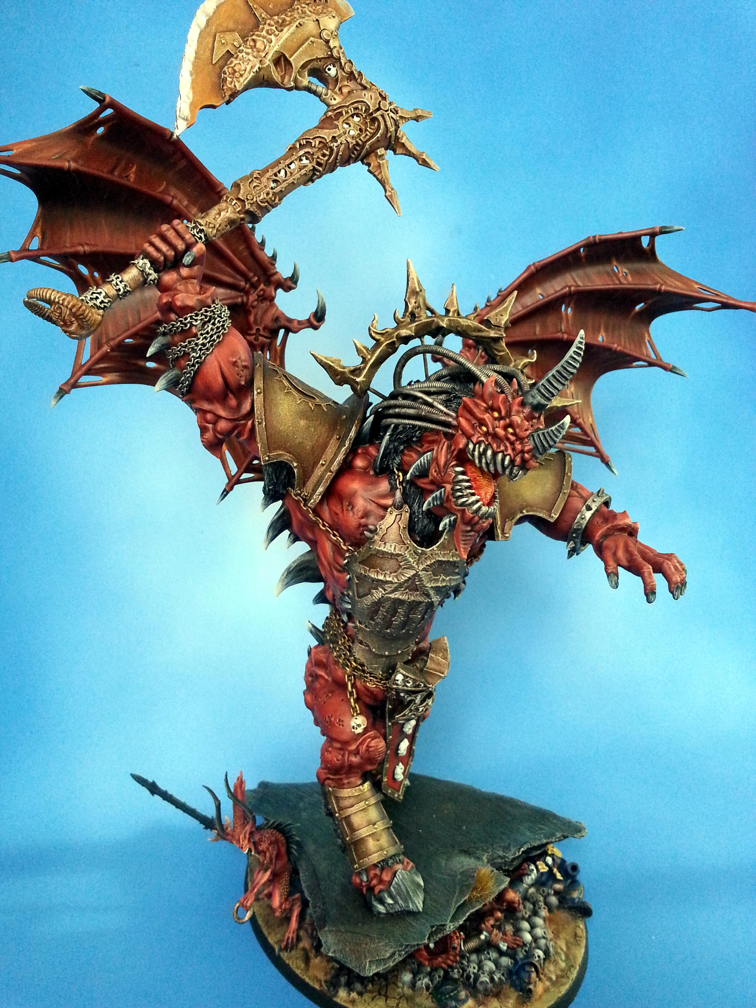 Angron, Bloodthirster, Chaos, Daemons, Primarch, World Eaters
