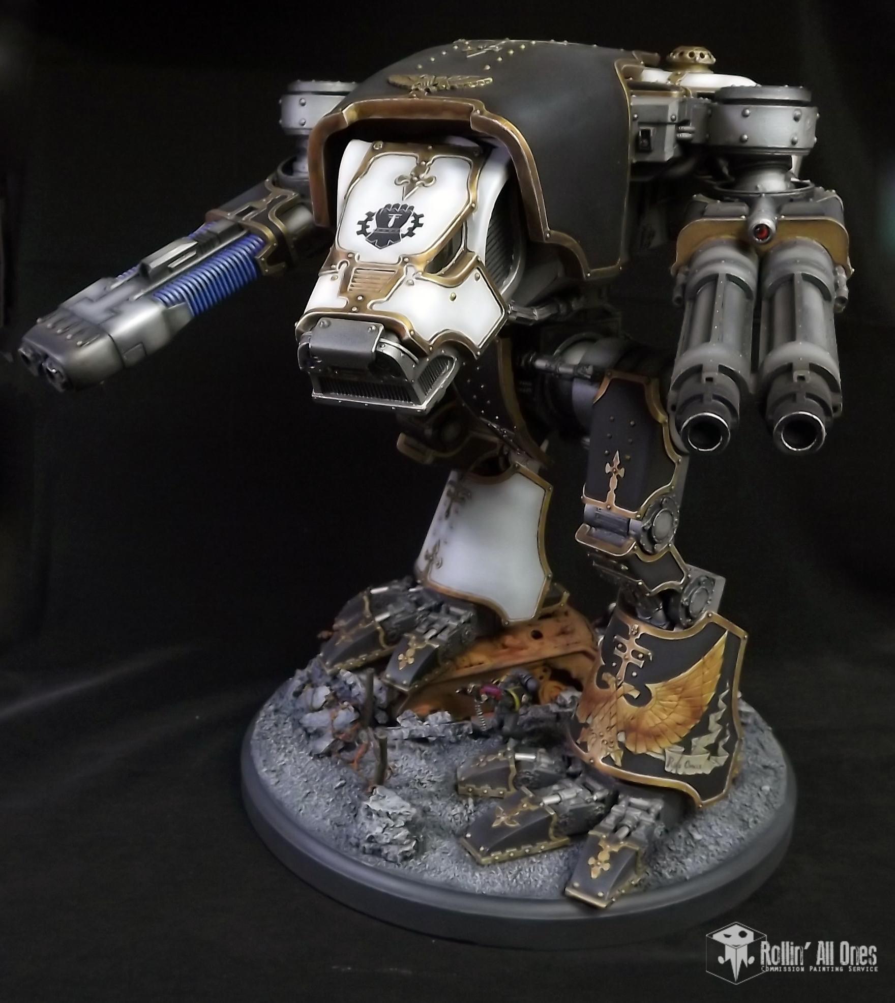 Legio Crucis, Plasma Blastgun, Titan, Warhound, Warmongers