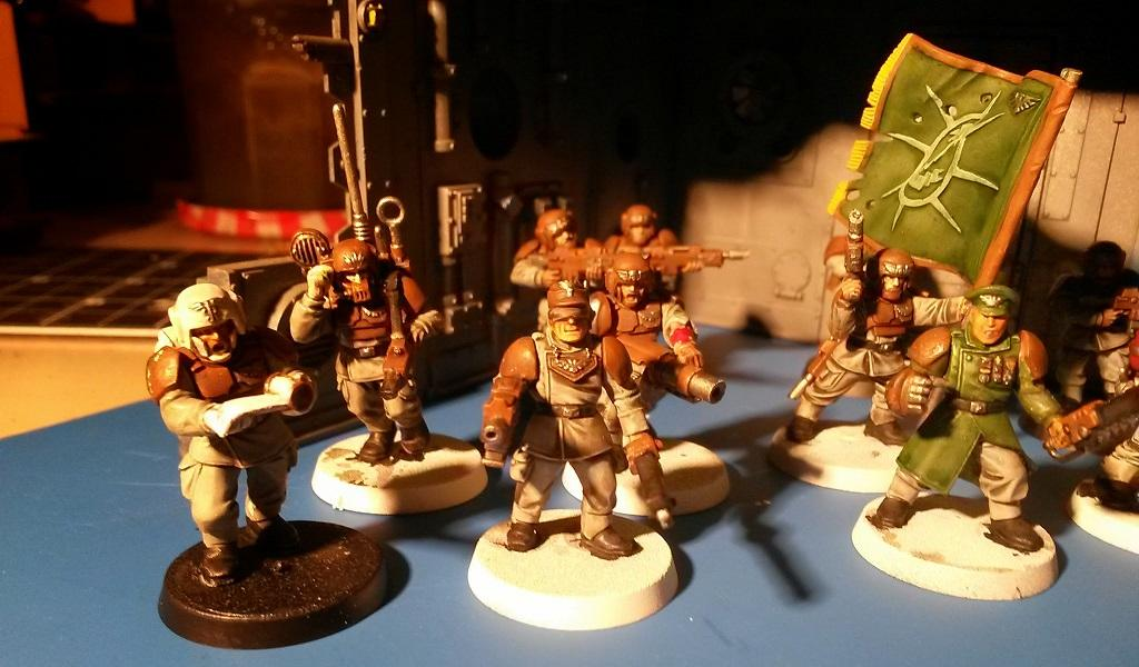 Astra Militarum, I Hate Faces, Imperial Guard, Infantry, Troops, Work In Progress