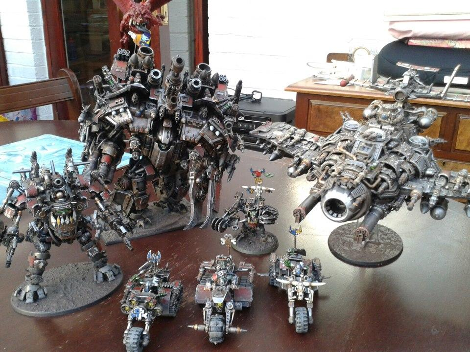 Awesome, Conversion, Ghazghkull Thraka, Over The Top, Stompa, Titan
