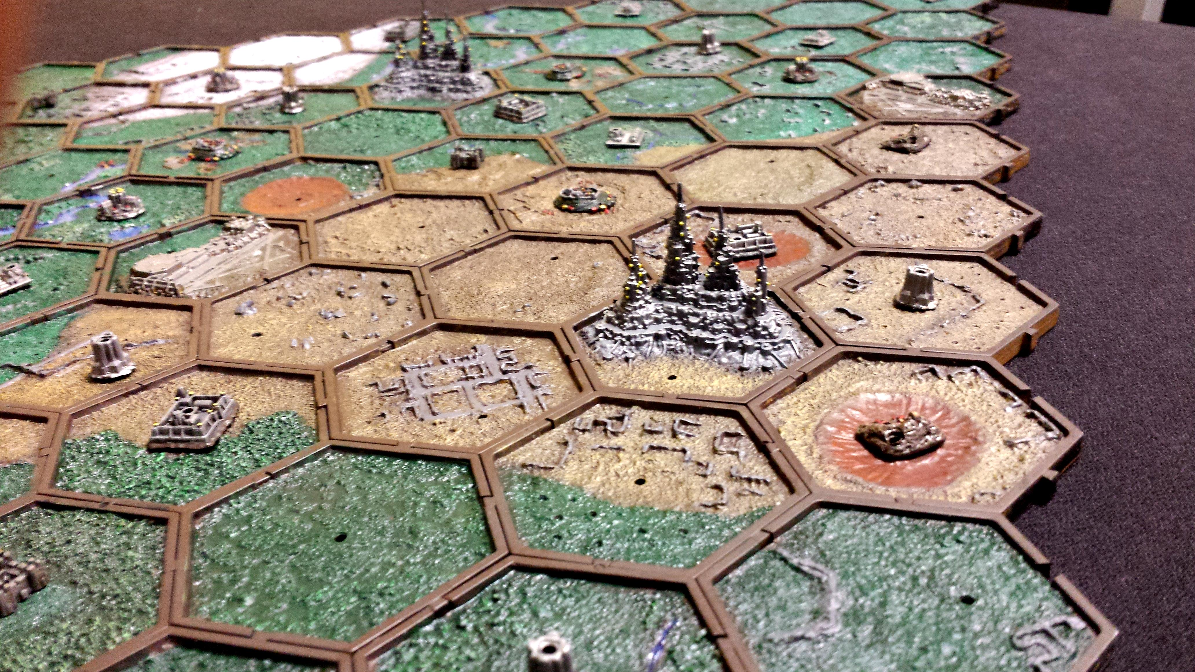 Campaign, Map, Mighty Empires, Planetary Empires, Warhammer 40,000