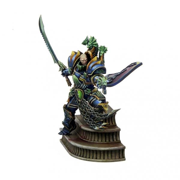 Alpha Legion, Chaos, Pro-painted, Space Marines