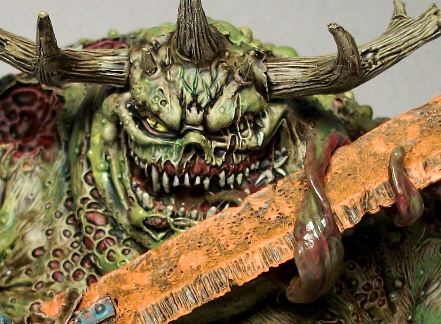 Chaos, Chaos Daemons, Daemons, Forge World, Great Unclean One, Greater Daemon, Greater Daemon Of Nurgle, Nurgle