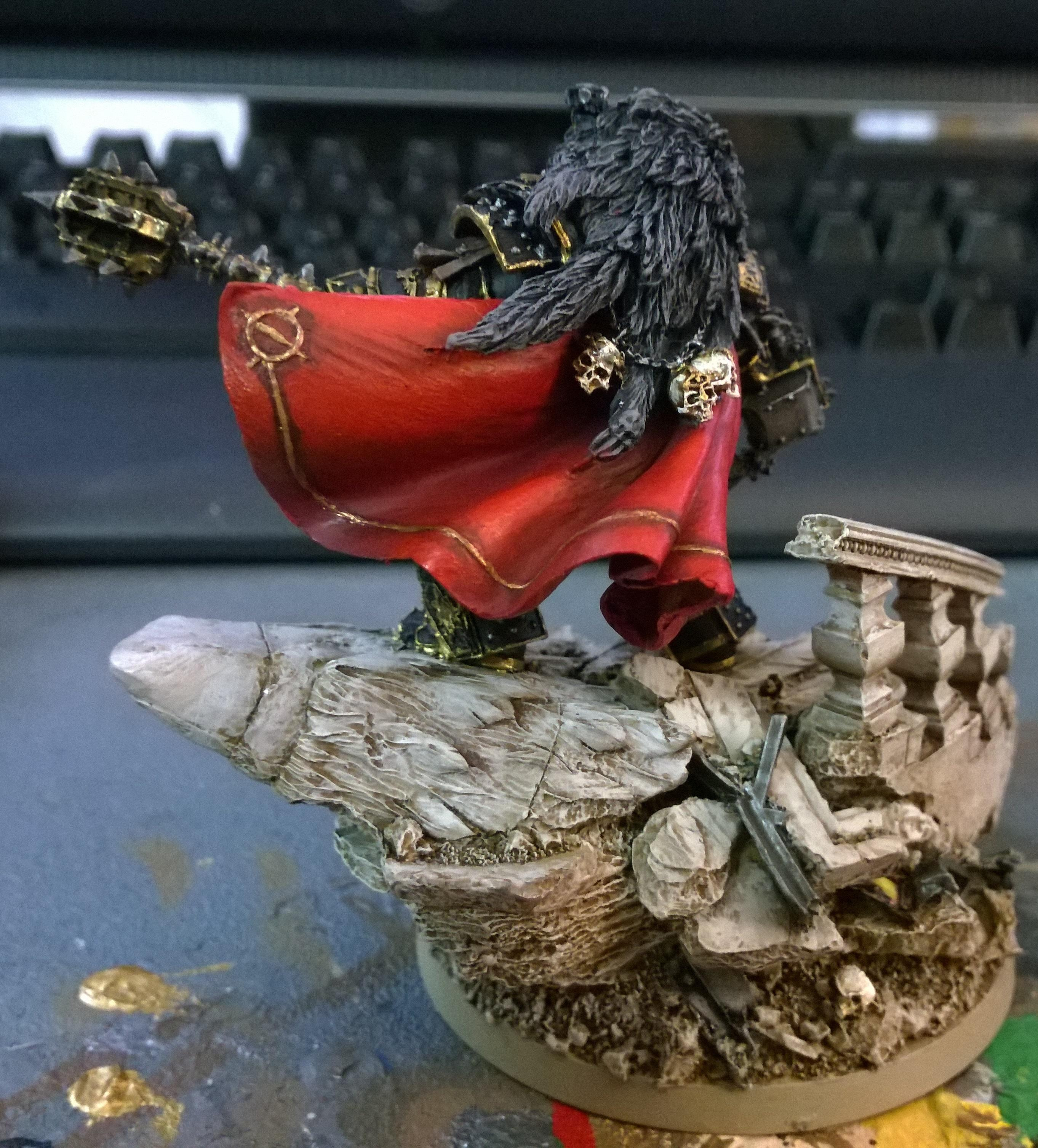 30k, Age Of Darkness, Character, Display, Forge World, Horus, Horus Heresy, Horus The Warmaster, Legion, Luna Wolves, Primarch, Sons Of Horus, Space Marines