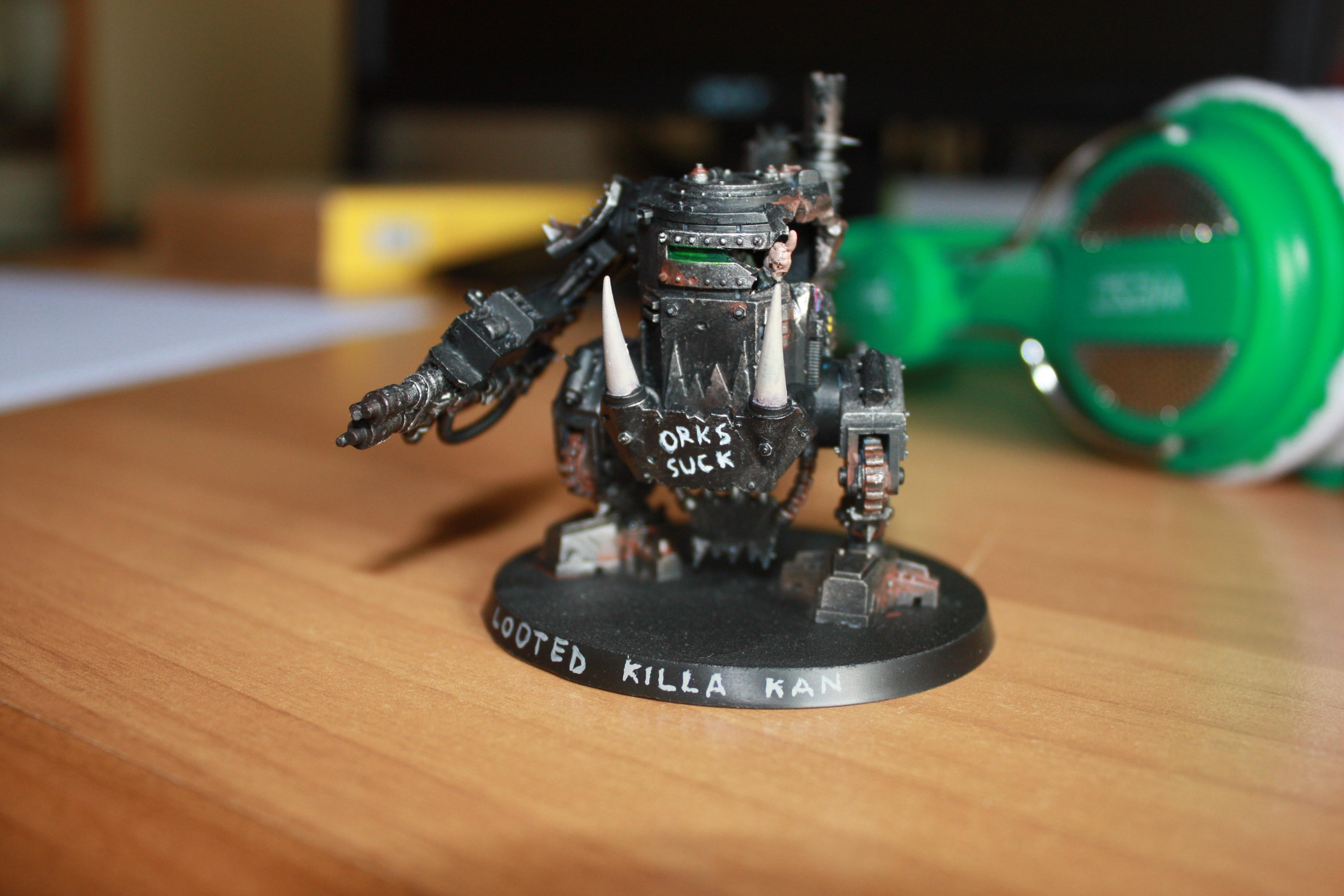 Counts As, Killa Can, Looted, Proxy, Sentinel
