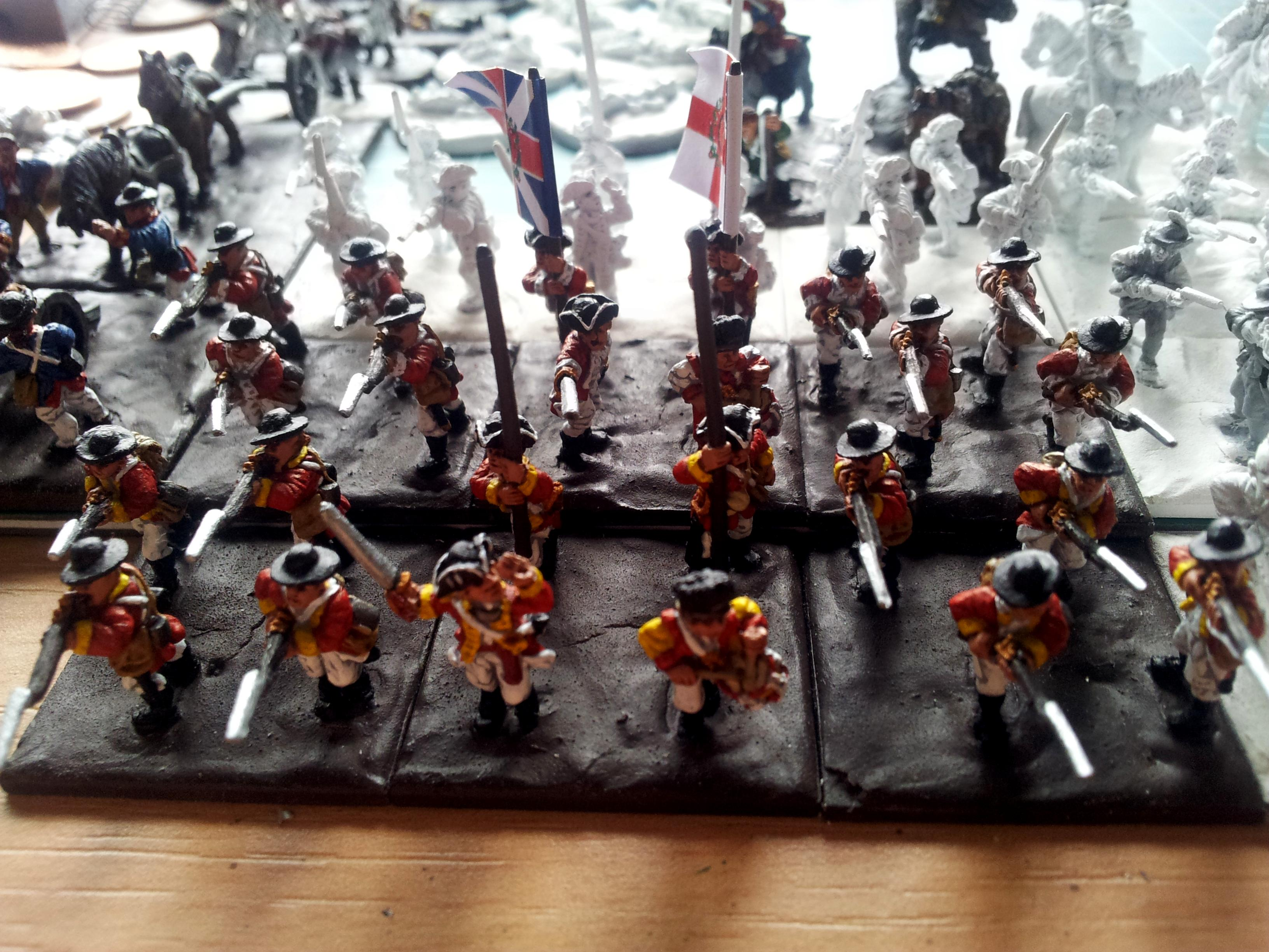 Awi, Historical, Redcoats, Work In Progress