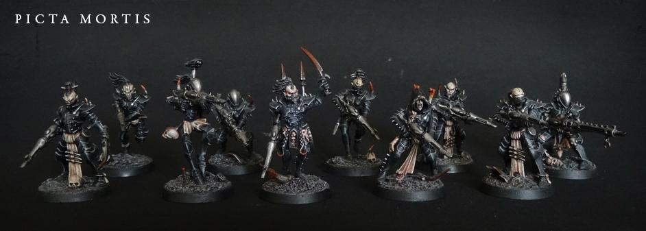 Black, Conversion, Dark Eldar, De, Kabalite, Pirates, Warhammer 40,000