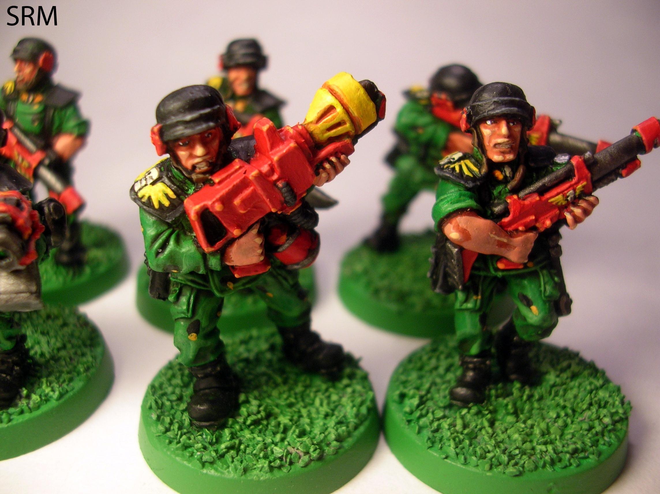 Cadians, Imperial Guard, Retro