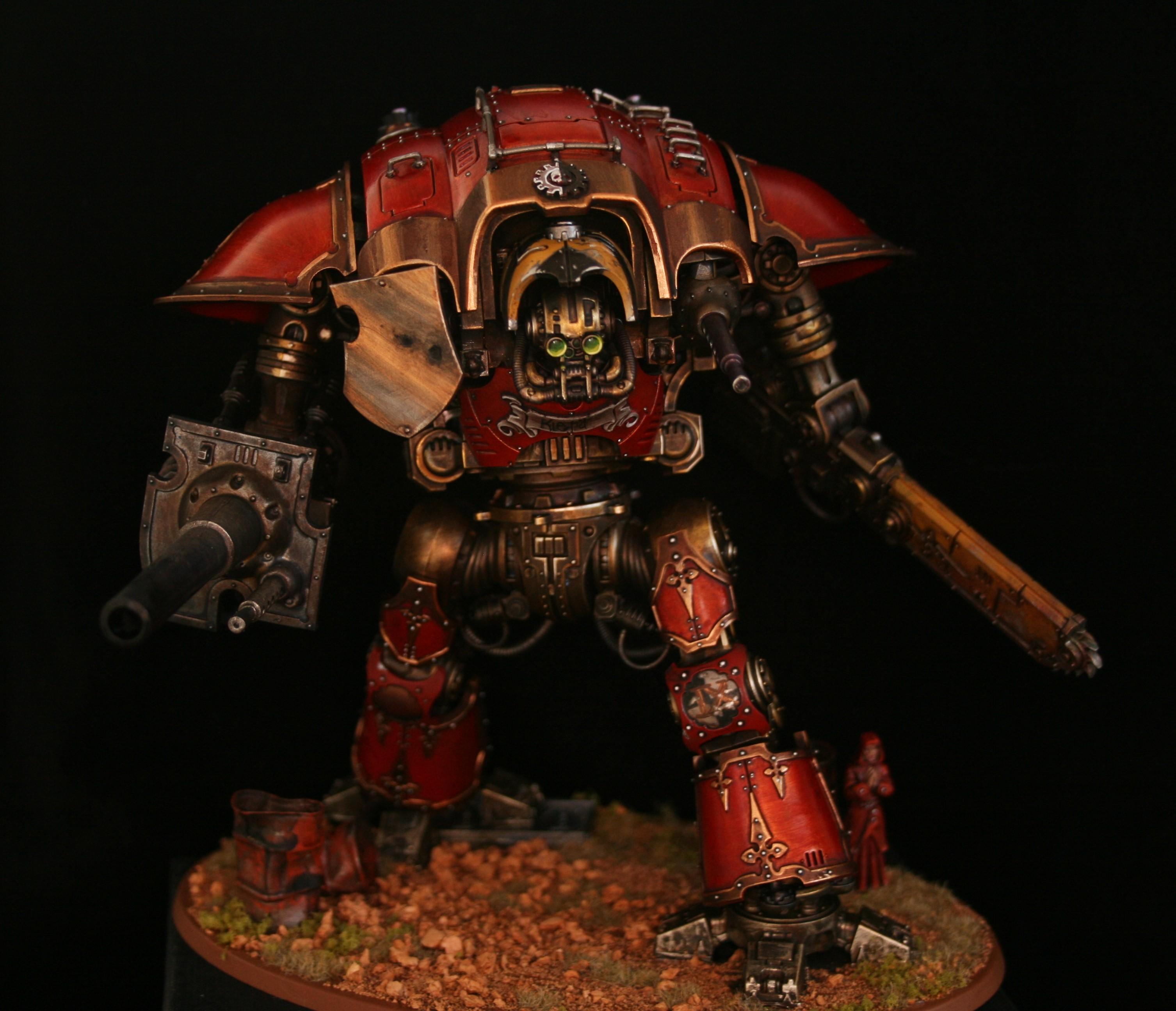 Knights, Mechanicus, Red, Titan