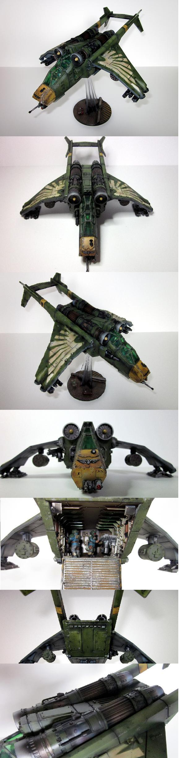 Cadians, Olive, Stencil, Valkyrie, Weathered