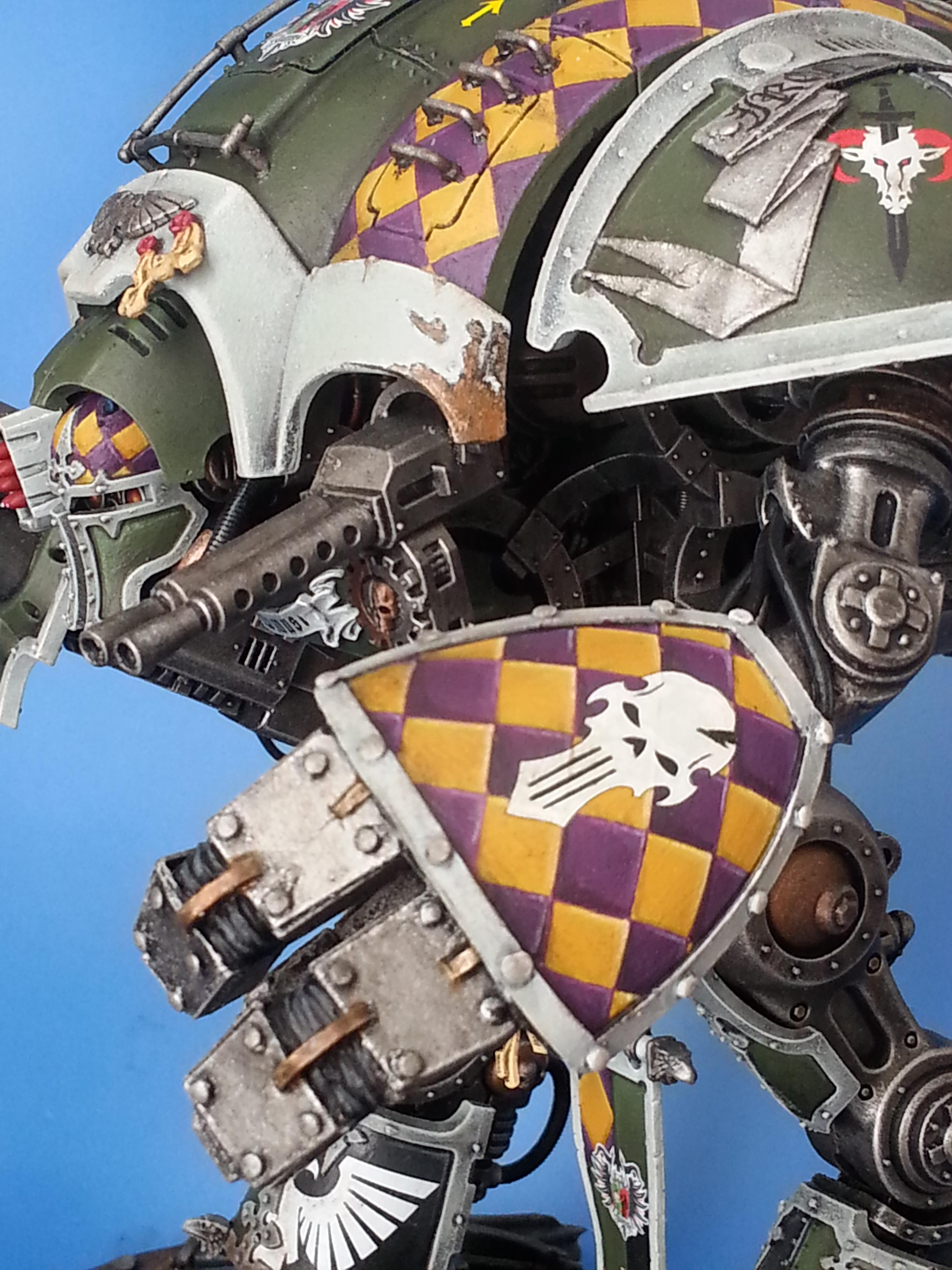 Chequered, Conversion, Freehand, Imperial Knight, Power Fist, Senechal, Titan
