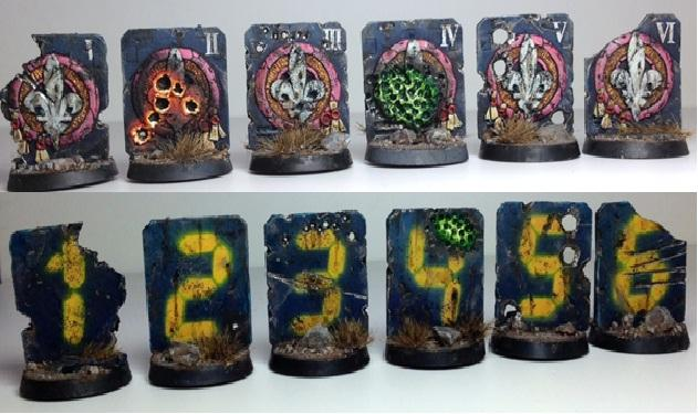 Markers, Objective Marker, Sisters Of Battle