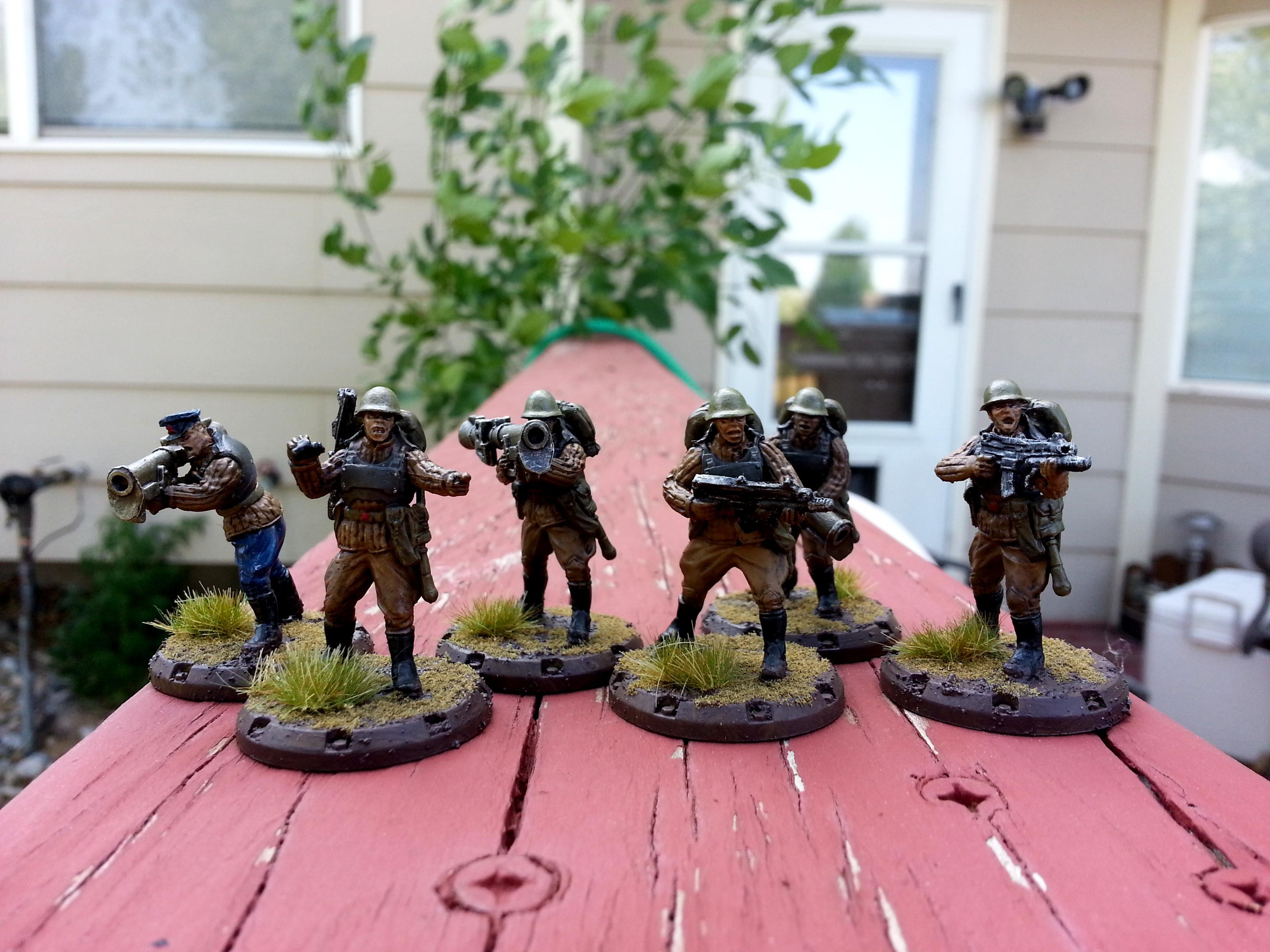Dust, Ssu, Wierd War 2