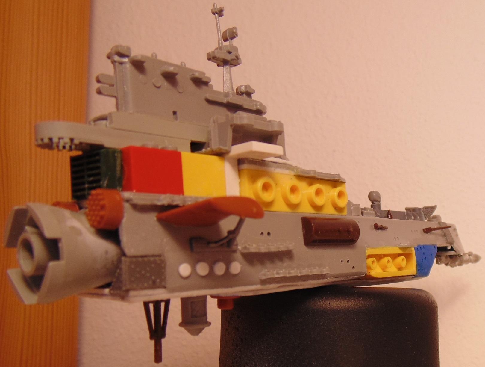 Battlefleet, Battleship, Conversion, Cruiser, Drone, Escort, Fleet, Gothic, Gotic, Hive, Imperial, Kraken, Mothership, Scratch, Scratch Build, Ship, Ships, Tyranids, Vanguard