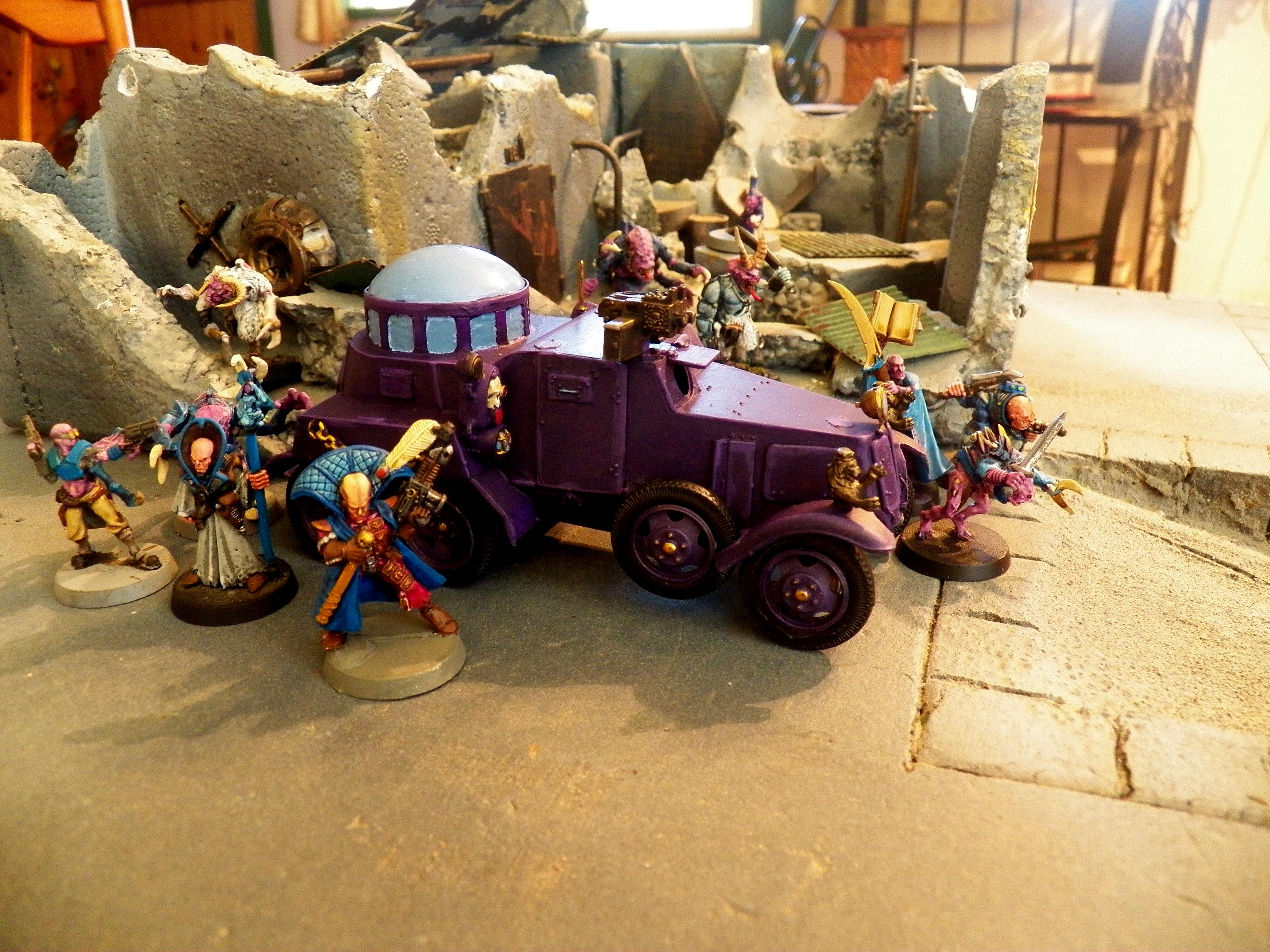 Armored Car, Cult, Genestealer
