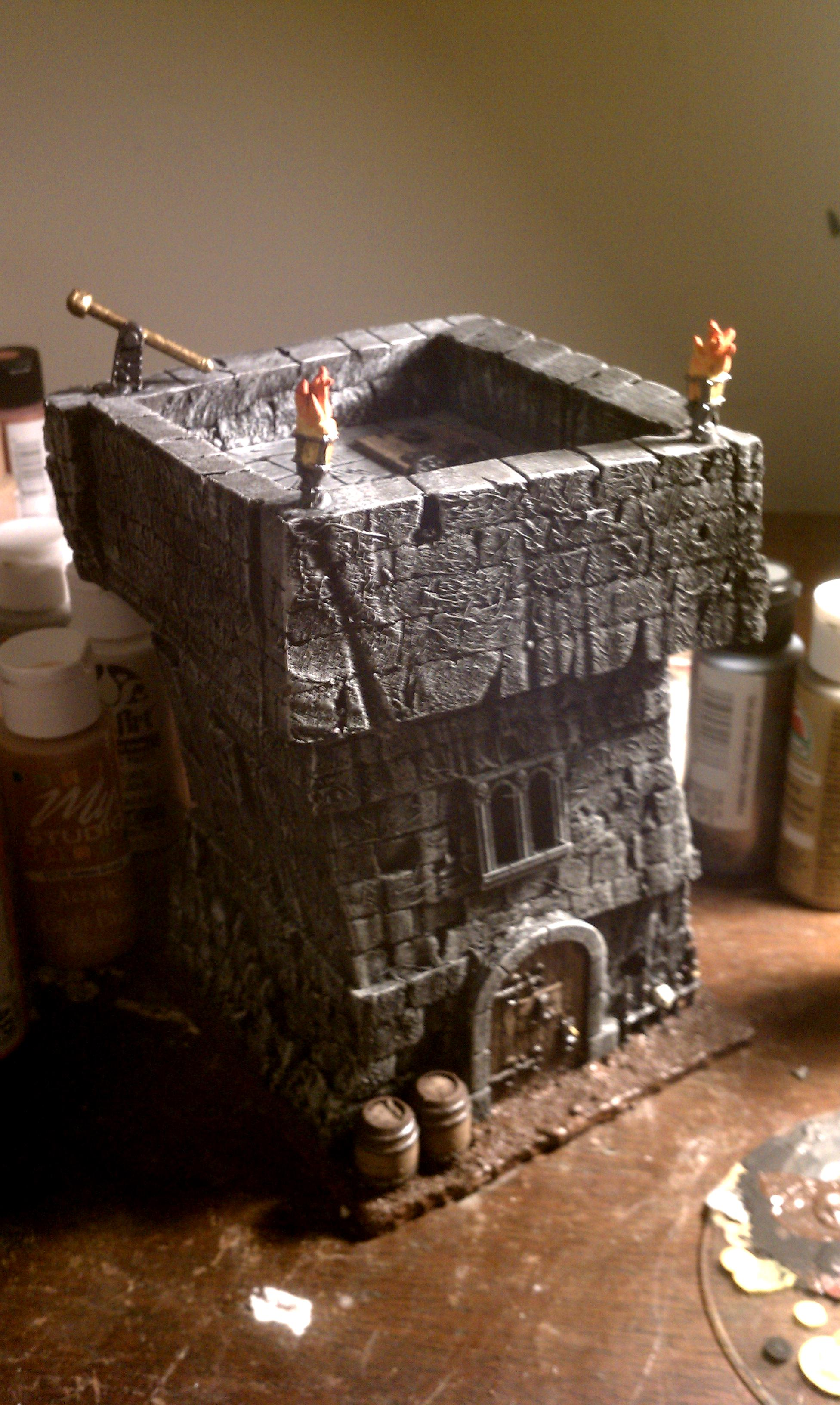Bits, Buildings, Empire, Scratch Build, Terrain, Towers, Warhammer Fantasy, Watchtowers