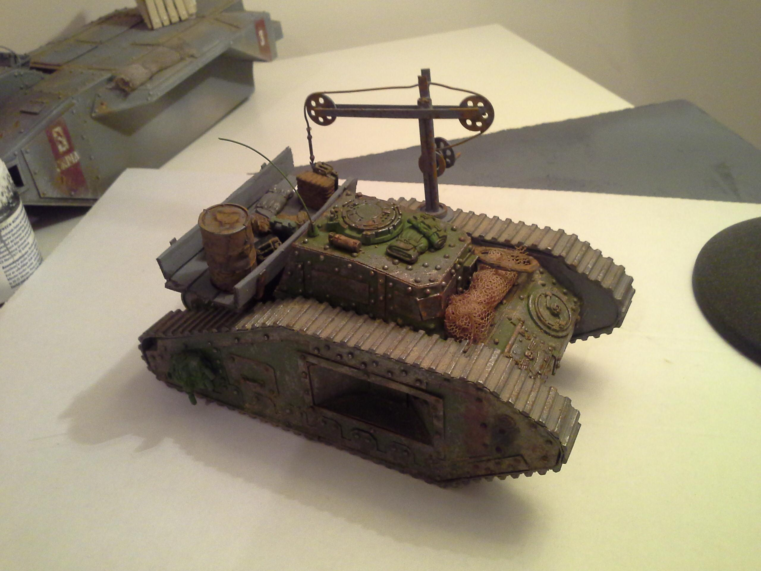 Ancient, Defender, Imperial Guard, Malcador, Rivets, Rust, Supply, Tank, Weathered