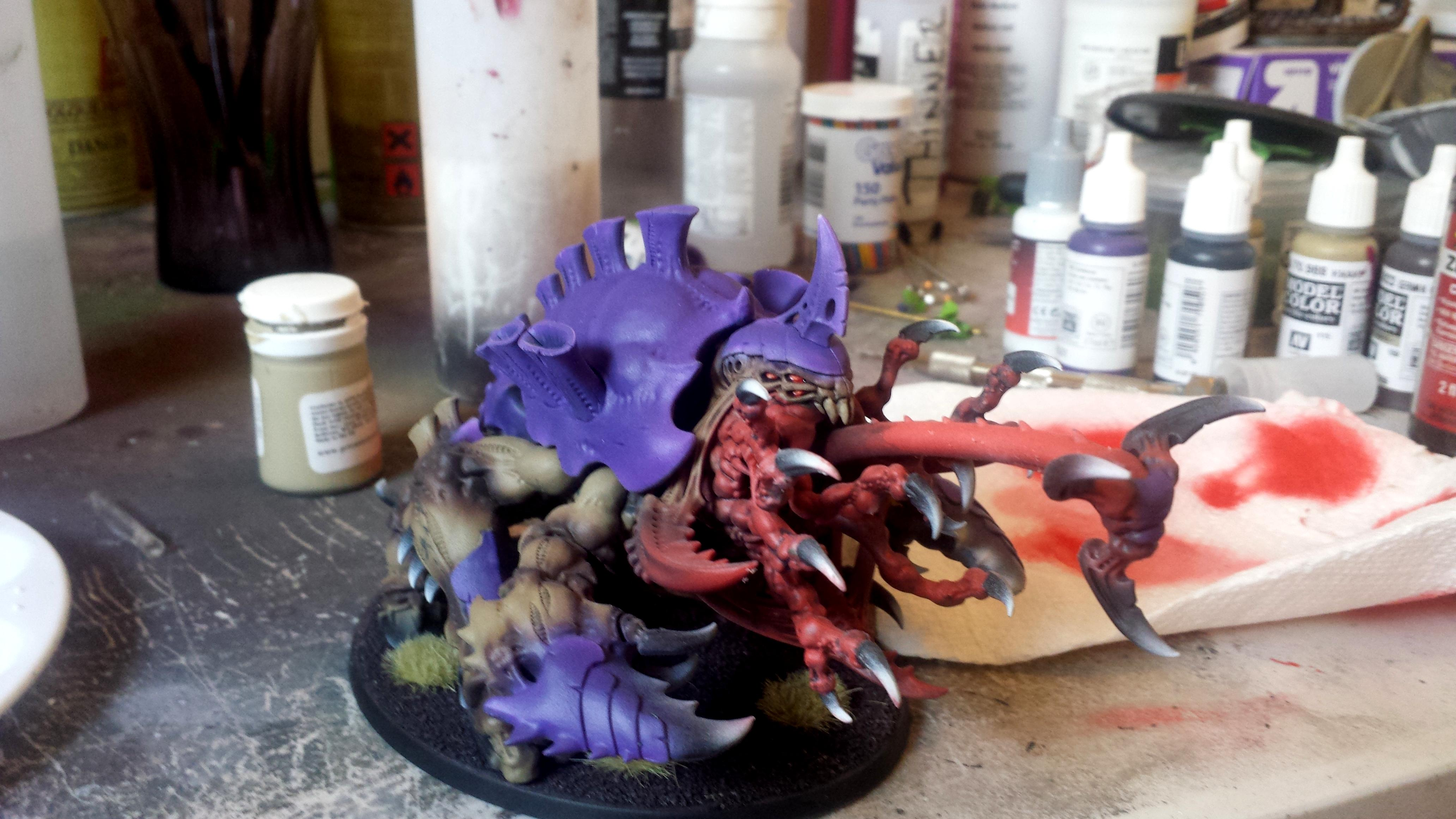 Awesome, Chitin, Creature, Haruspex, Monsterous, Purple, Tyranids