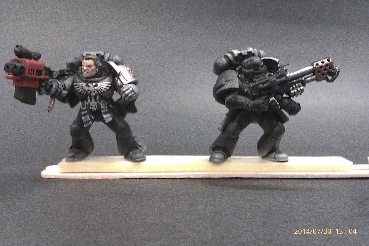 Black Shield, Captain Titus, Deathwatch, Killteam, Salamander, Work In Progress