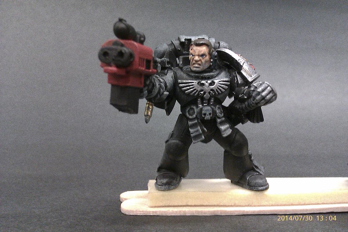 Black Shield, Captain Titus, Deathwatch, Killteam, Work In Progress