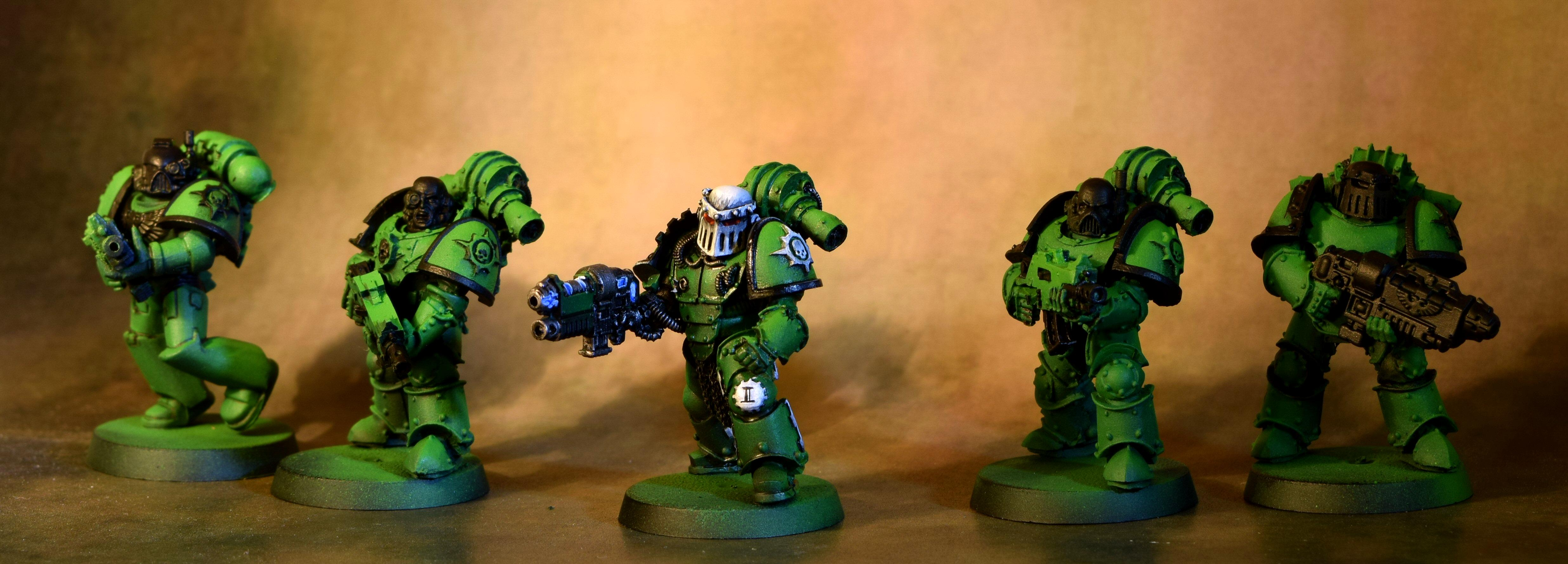 Sons Of Medusa, Space Marines, Tactical Squad, Work In Progress