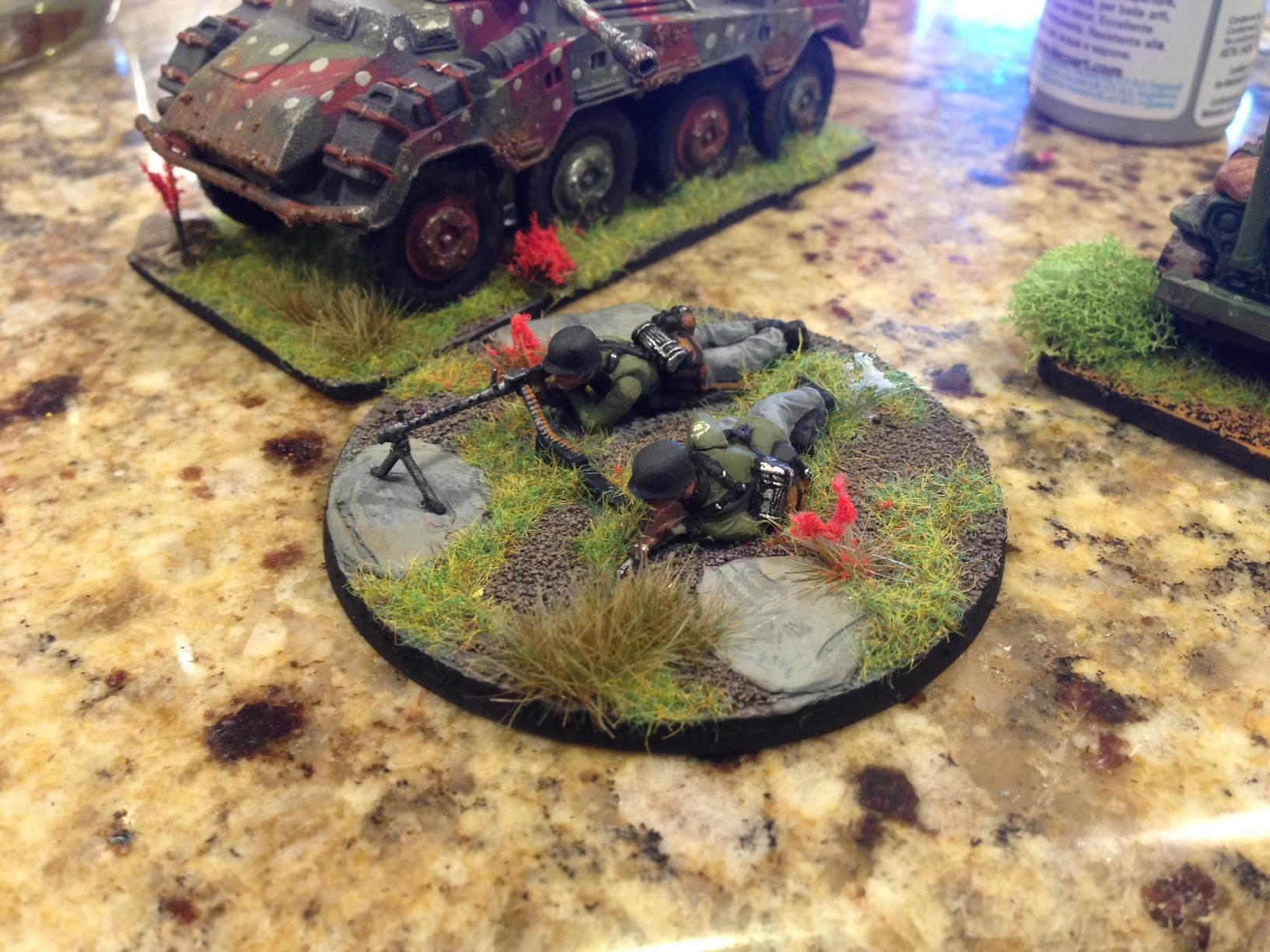 Bolt Action, Gebirgsjager, Germans, Mg, World War 2