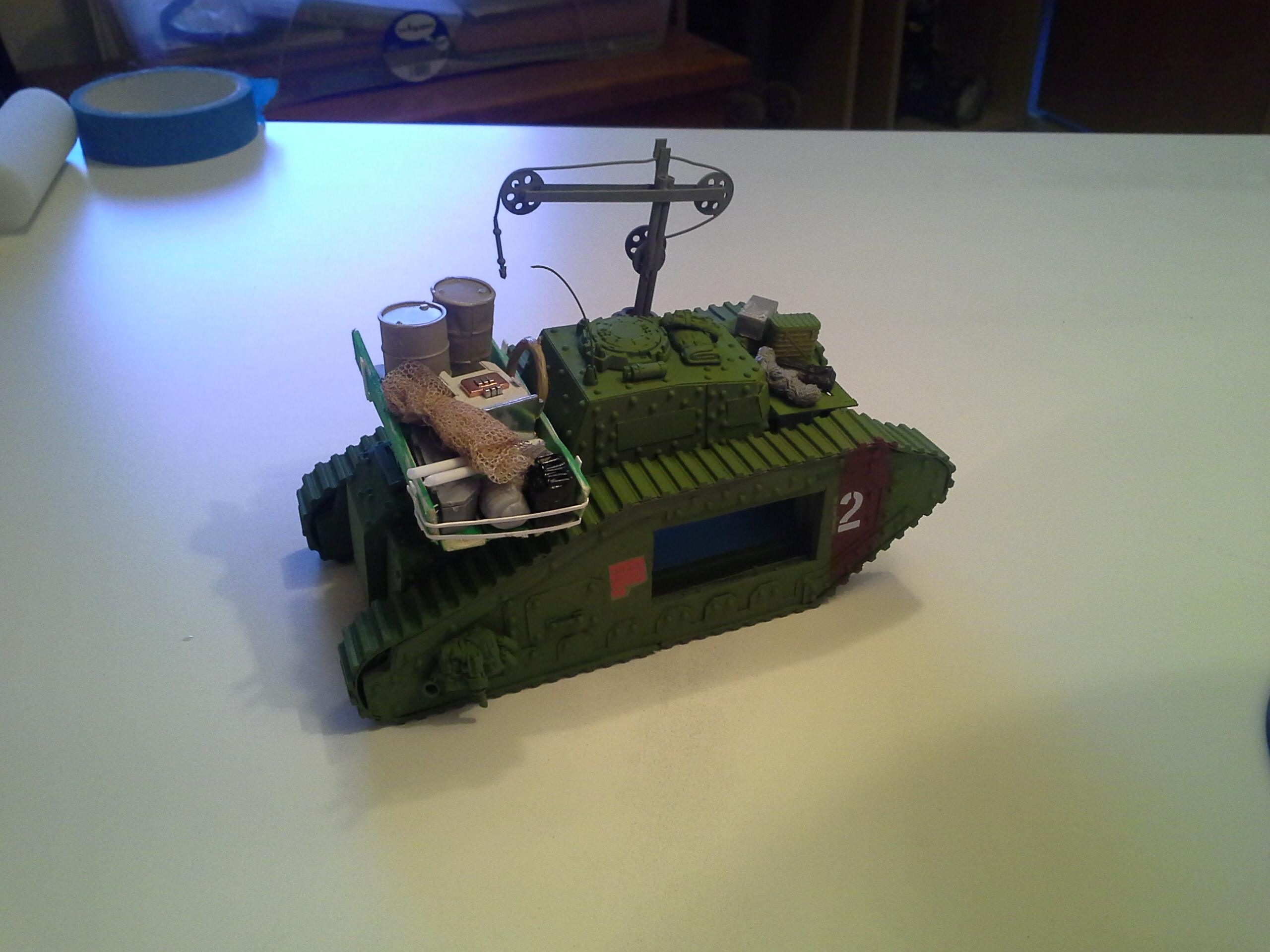Ancient, Armor, Defender, Dirt, Imperial Guard, Malcador, Recovery, Rivets, Rust, Scratch, Scratch Build, Supply, Tank, Transport, Weathered