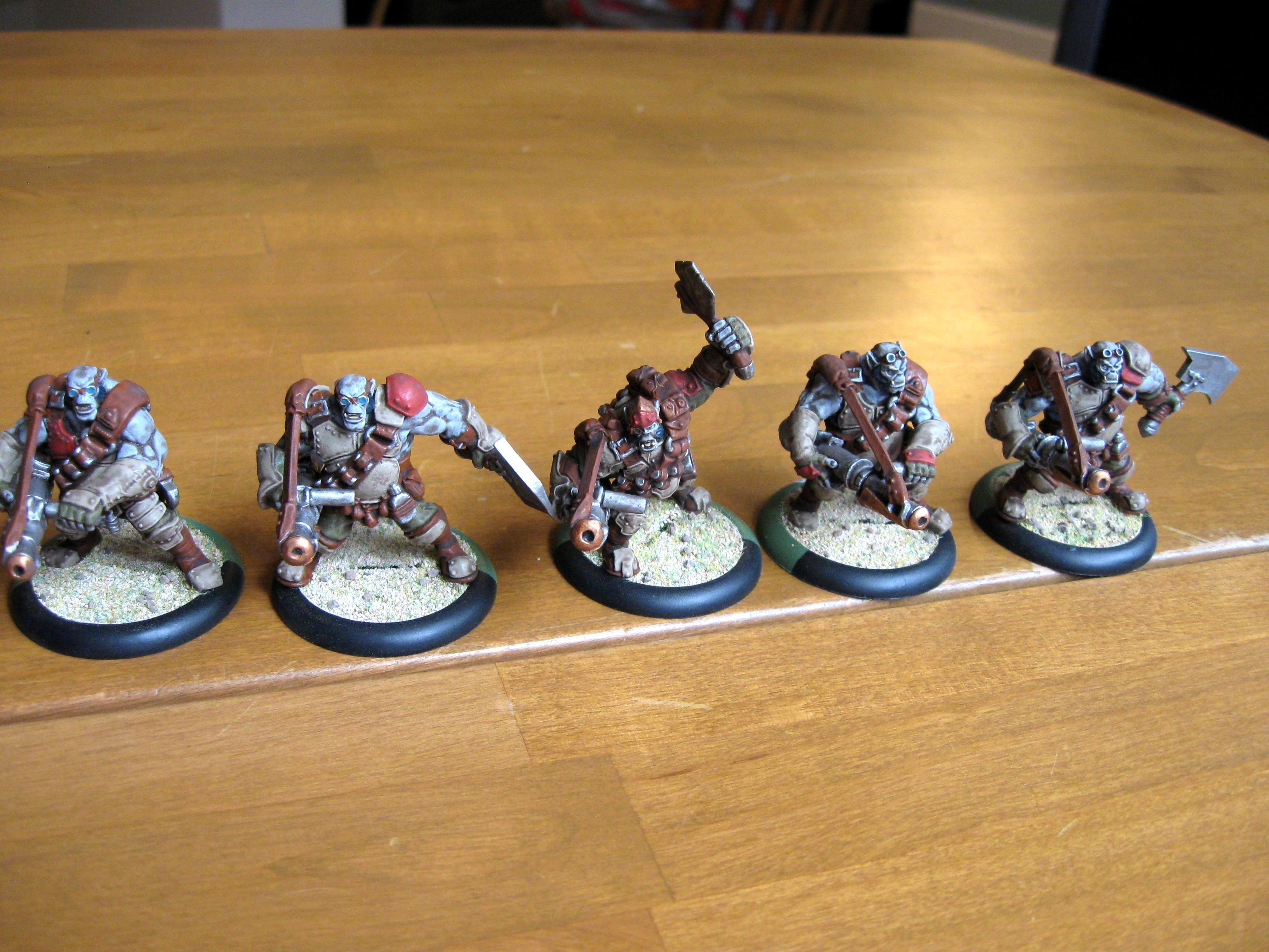 Dwarves, Mercenary, Ogrun, Privateer Press, Rhul, Searforge, Warmachine