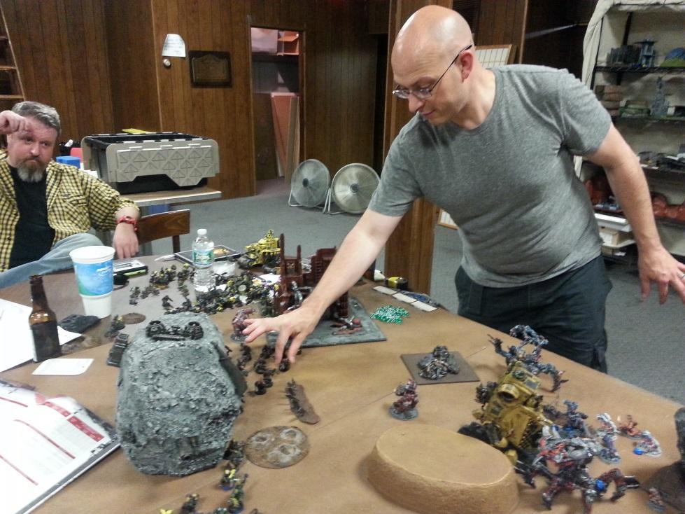 Battle Report, Chaos Daemons, Daemons, Harrowed, Orks