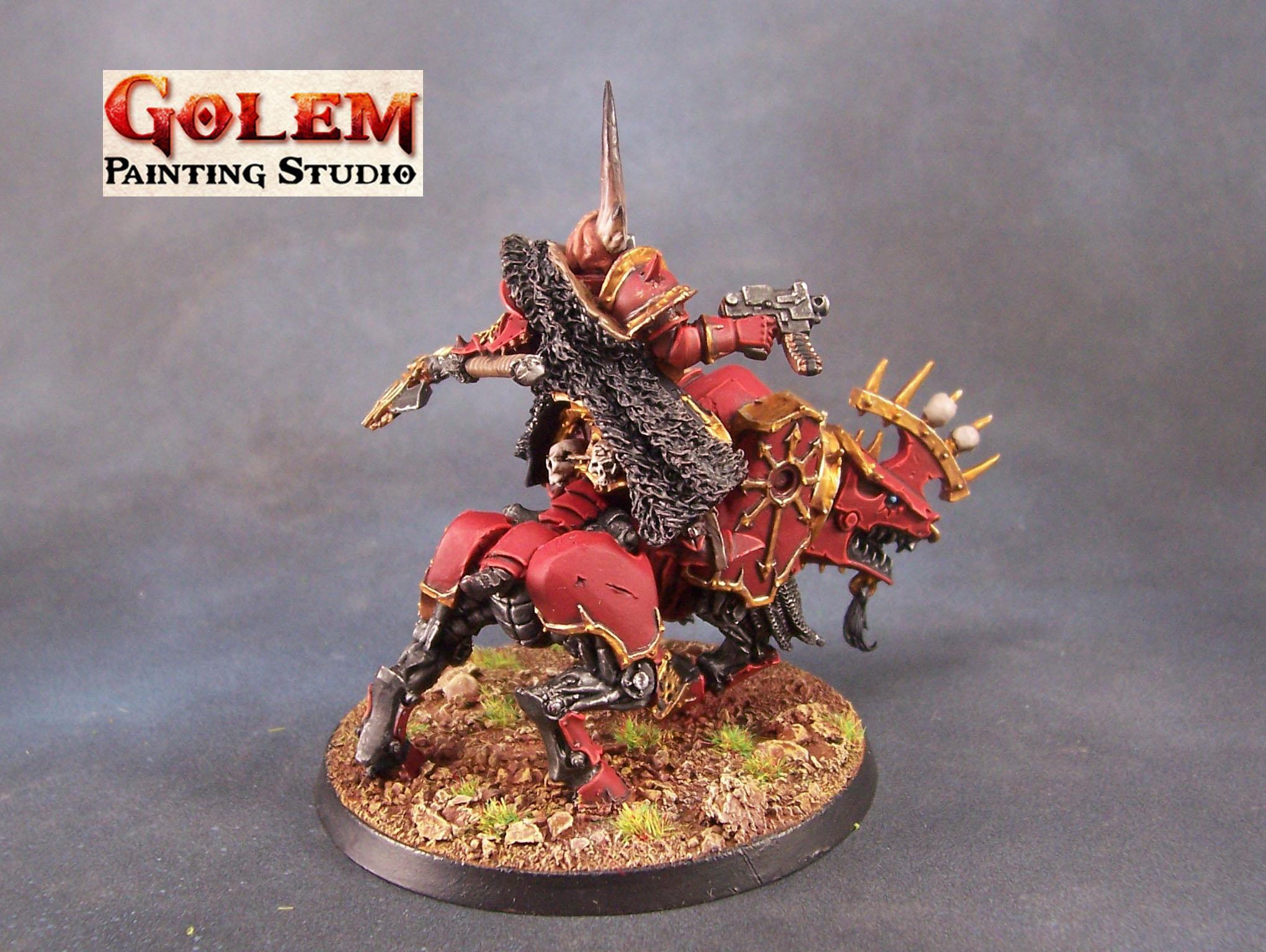 chaos lord on juggernaut (khorne) 2
