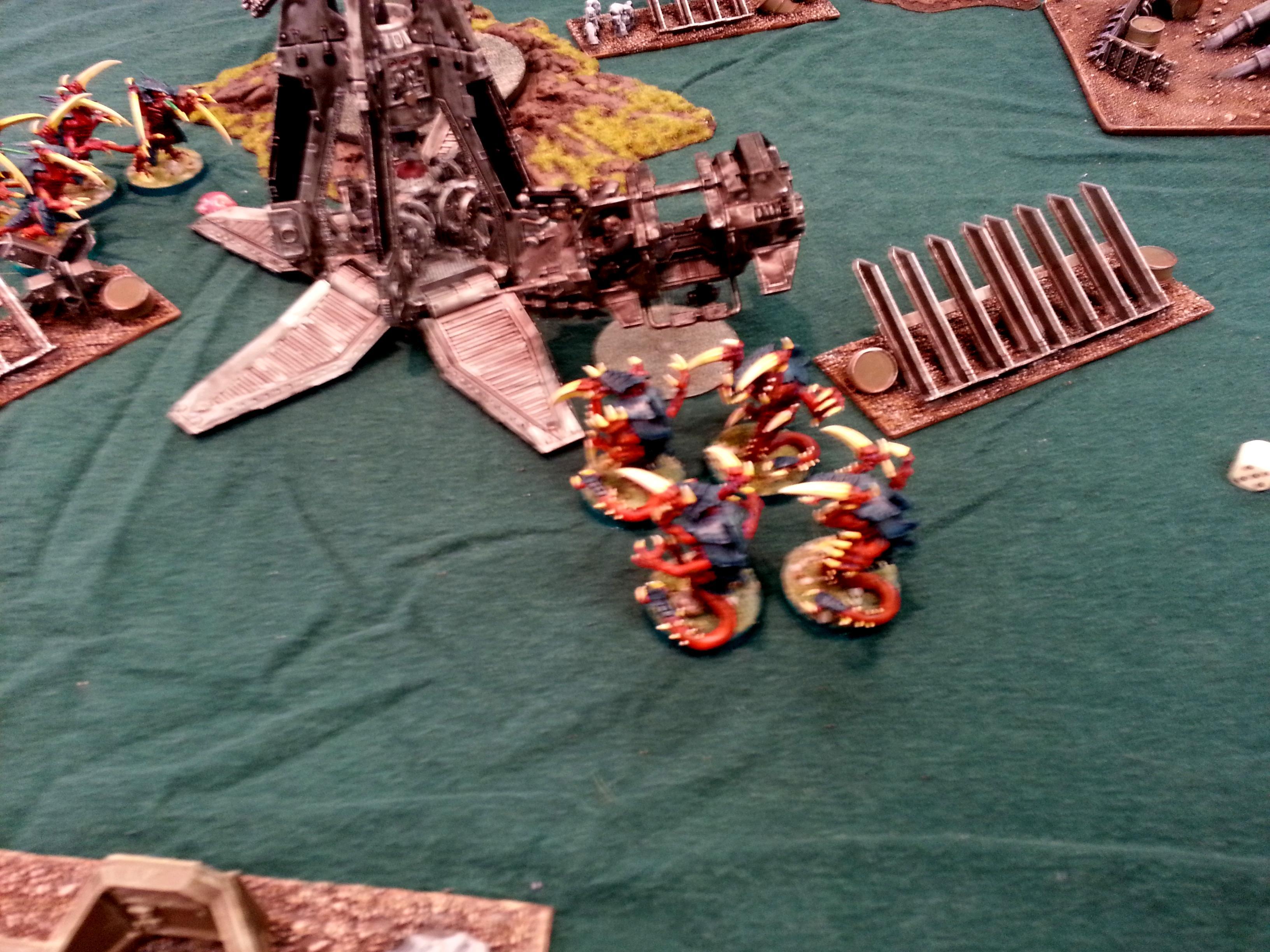 Turn 2b SM: Raveners finish Sternguard