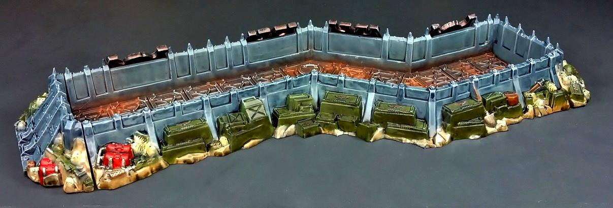 Terrain, Trench, Wall Of Martyrs