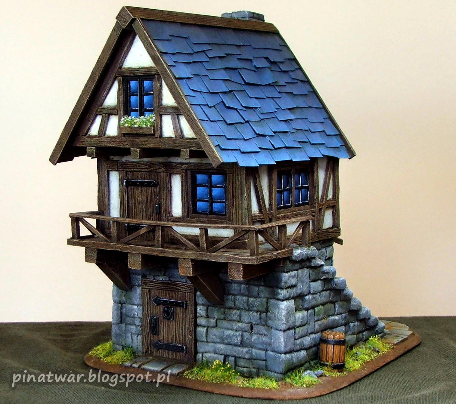 Blacksmith, Forge, House, Terrain, Village