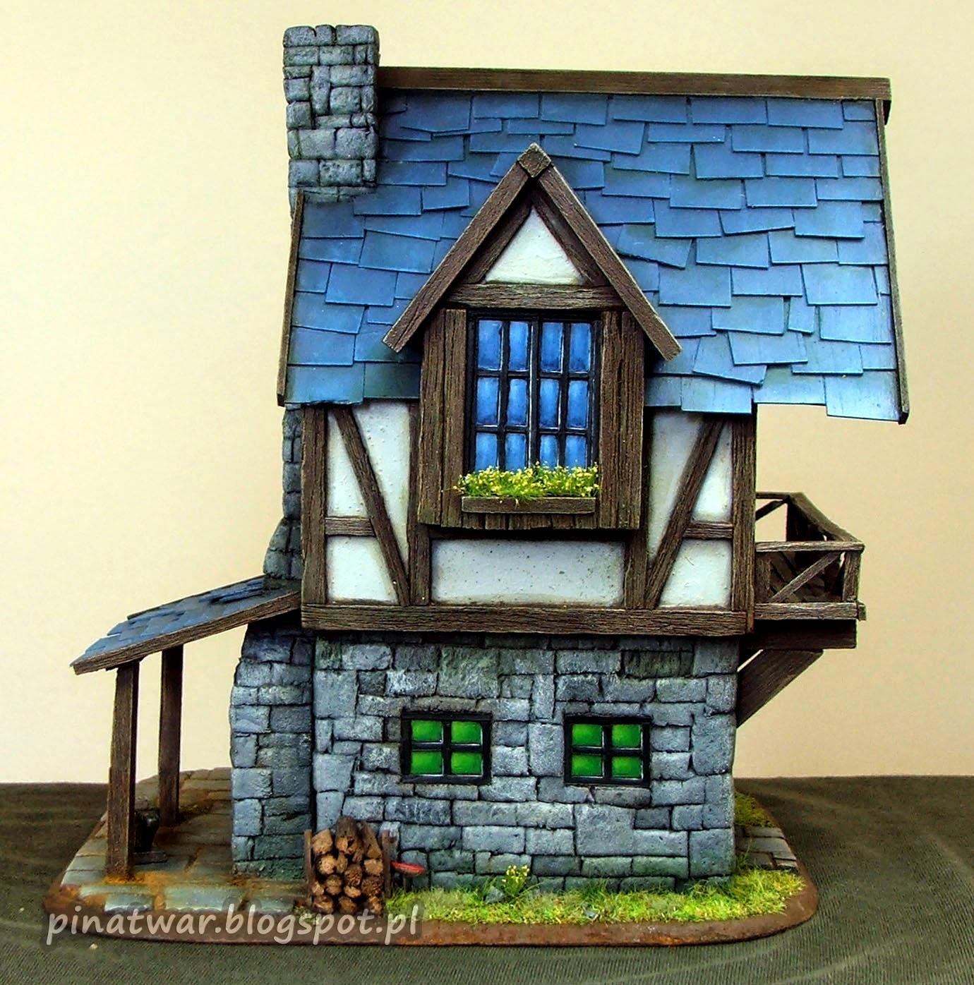 Blacksmith, Forge, House, Terrain, Village