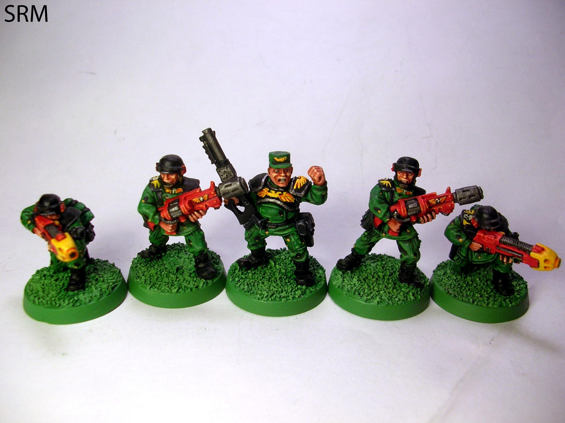 2nd Edition, Cadians, Command Squad, Out Of Production, Retro