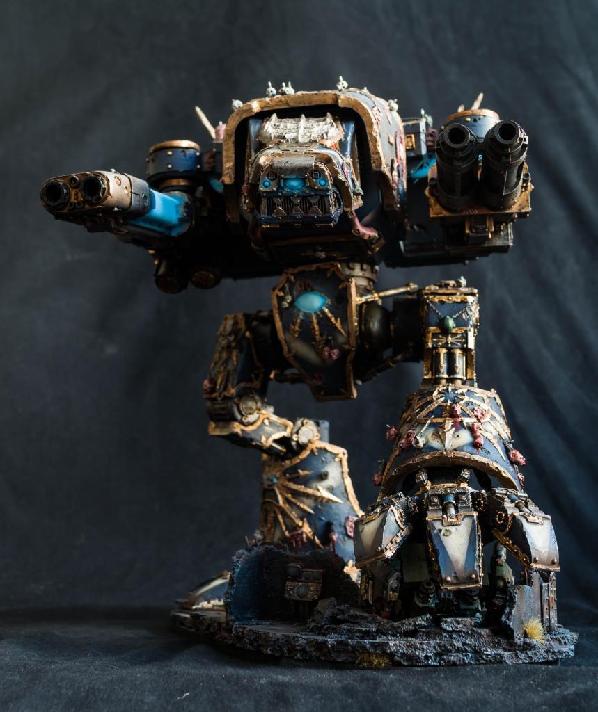Night Lords, Titan, Warhammer 40,000, Warhound