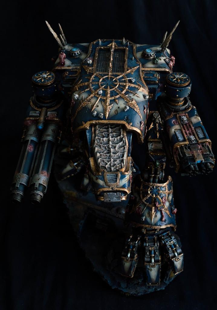 Chaos, Chaos Space Marines, Forge World, Scout Titan, Titan, Warhammer 40,000, Warhound