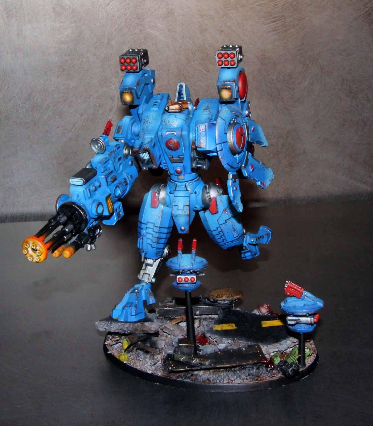 Riptide, Warhammer 40,000, Xv104